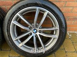 18 Genuine BMW G30 5 Series alloys tyres & Tyre Pressure Monitor