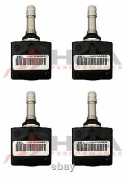 2001-2004 C5 Corvette TPMS Tire Pressure Monitoring Sensor Set Of 4 25773946