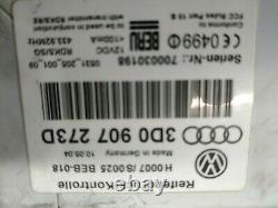2004-2006 Vw Volkswagen Phaeton 3d Tire Pressure Monitor System 3d0 907 273d