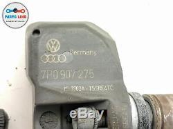 2007-2014 Volkswagen Touareg 7p Tpms Tire Pressure Monitor Sensor Set Of 4 Oem