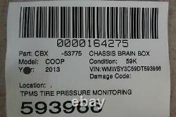 2012-2015 Mini Cooper Tpms Tire Pressure Monitor Control Module 36106868194 Oem