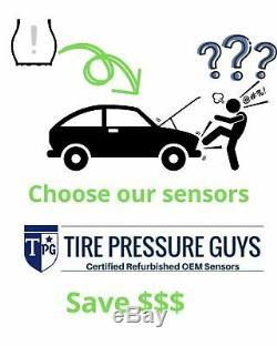 (4) GN3A-37140B OEM Mazda TPMS Tire Pressure Monitoring Sensor & Service Kit