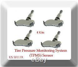4 Kits Tire Pressure Monitoring System (TPMS)Sensor 52933-2F000 Fits Hyundai Kia