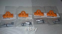 4 NEW OEM TPMS RDKS RDK Reifendrucksenor BMW E84 F25 F26 E70 E71 X1 X3 X4 X5 X6