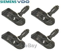 4-PCS Siemens VDO TPMS Tire Pressure Monitoring System Sensor 1K0907253D