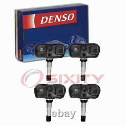 4 pc Denso Tire Pressure Monitoring System Sensors for 2006-2013 Toyota RAV4 na