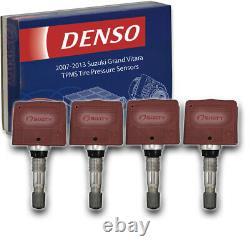 4 pc Denso Tire Pressure Monitoring System Sensors for 2007-2013 Suzuki nc