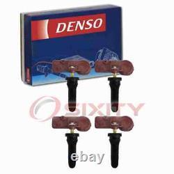 4 pc Denso Tire Pressure Monitoring System Sensors for 2008 Dodge Ram 2500 fp
