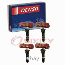 4 pc Denso Tire Pressure Monitoring System Sensors for 2010-2014 Ford ky