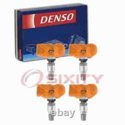 4 pc Denso Tire Pressure Monitoring System Sensors for 2012-2014 BMW 650i jt