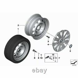 4x Genuine BMW TPMS OEM Tyre Pressure Monitoring Sensor Set Of 4 36106881890
