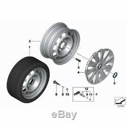 4x Genuine BMW TPMS Set Of 4 OEM Tyre Pressure Sensor Monitoring Valve 6881890