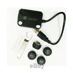 ATOTO USB TPMS Tire Pressure Monitoring Sensors System AC-UTP1 specified for