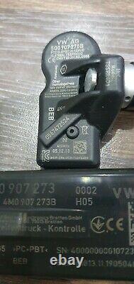 AUDI A3 8v TT 8s TPMS Tire Pressure Monitor Control kit 8S0907273. Loom sensors