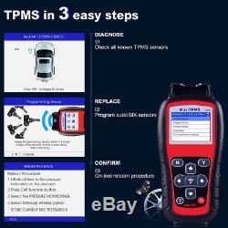 AUTEL MaxiTPMS TS508K Tire Pressure Monitor System TPMS Sensor Activation Tool