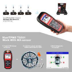 AUTEL TS501 TPMS Programming Reset Tire Pressure Monitor System Diagnostic Tool