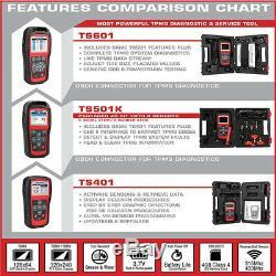 Autel MaxiTPMS TS601 OBD2 Tire Pressure Monitoring TPMS Reset Programming Tool