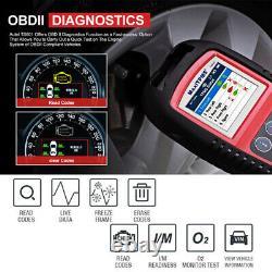 Autel TPMS Tool Tire Pressure Monitoring Programming Reset OBD2 MaxiTPMS TS601