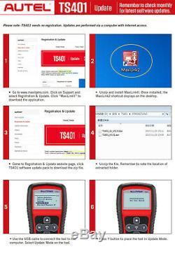 Autel TS401 MaxiTPMS OBD2 Tire Pressure Monitoring TPMS Reset Programming Tool