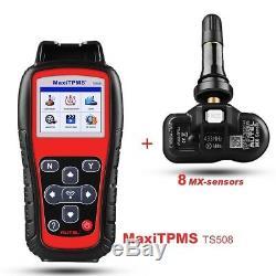 Autel TS508K TPMS Code Scanner Tool Tire Pressure Monitor System Program Sensor