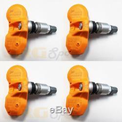 Beru Huf Tpms Tire Pressure Monitor Sensor Set Bmw Rde-008 Rde-011