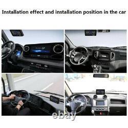 Bus Lorry LCD Display TPMS Tyre Pressure Monitoring System + 8 External Sensor