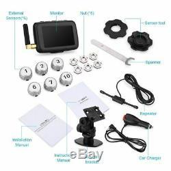 CAREUD U901T Car Truck TPMS Tire Pressure Monitoring System + 6 External Sensor