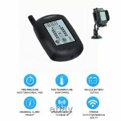 Caravan Tyre Pressure Monitor System Tpms 6 Sensors Caravan Truck Motorhome
