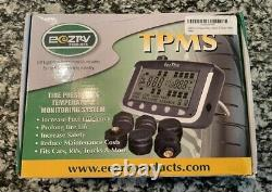 EEZTire-TPMS Real Time/24x7 Tire Pressure Monitoring System(TPMS4) 4 Anti-Theft
