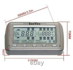 EEZTire-TPMS Real Time/24x7 Tire Pressure Monitoring System (TPMS4)- NEW IN BOX