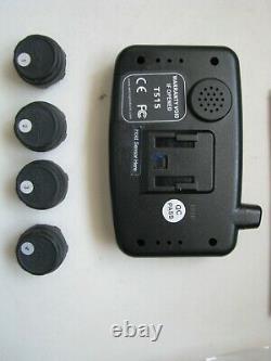 EEZTire-TPMS T515 Tire Pressure Monitoring System TPMS4 4 Anti-Theft sensors