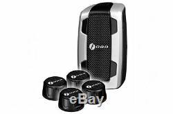Fobo Tyre Plus Black 87 Psi Bluetooth Tyre Pressure Monitor Tpms Truck Ute Van