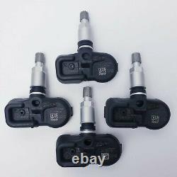 For Toyota Prius Tpms Tyre Pressure Monitor Sensor 42607-02031 Set Of 4 Sensors