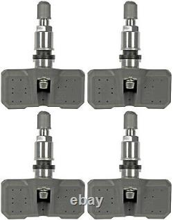 Four Tire Pressure Monitoring System (TPMS) Sensor Dorman 974-051