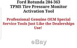 GENUINE Ford Rotunda 204-363 TPMS Tire Pressure Monitor Activation Tool
