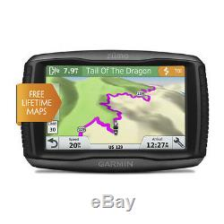 Garmin zumo 595LM Motorcycle GPS with Two Tire Pressure Monitor Bundle 01603-00