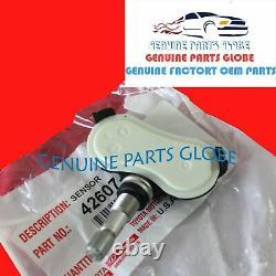 Genuine Toyota 20° Sienna Sequoia Tundra Tire Pressure Monitor Sensor Set Of 4