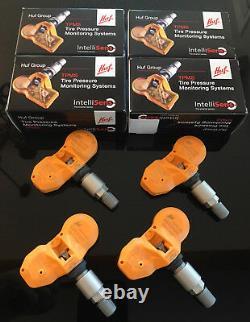 Huf Tpms Tire Pressure Monitor Sensors Set For Vw Touareg 2004-2006 Rde005