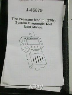 Kent Moore Tool J-46079 Tire Pressure Monitor Tester