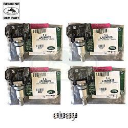 LAND ROVER TIRE PRESSURE MONITOR SENSOR x4 RANGE LR3 RR SPORT LR086929 OEM