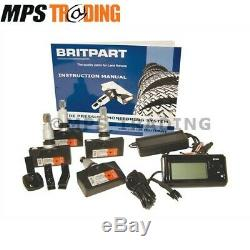 Land Rover'britpart' Automatic Car Tyre Pressure Monitor Set Da4512