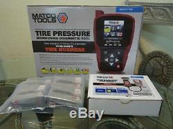 Matco Tire Pressure Monitoring Diagnostic Tool MAXTPMSADV OBDII Scanner TPS TPMS