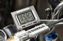 Motorcycle TPMS TD4100A-X Tyredog Tyre Pressure Monitor System Free Shipping USA