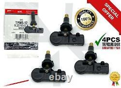 New 4 Pcs Tpms-12 Tire Pressure Monitoring Sensor 9l3z-1a189-a