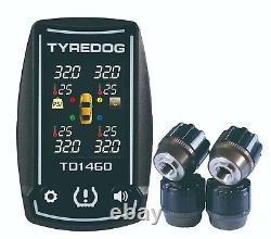 New TPMS TD1460VX Tyredog Tyre Pressure Monitor System Fast Free USA Shipping