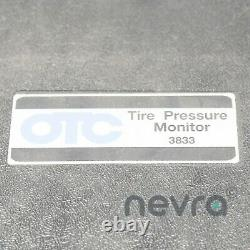 OTC 3833-1 Tire Pressure Monitor with Quick Start Guide & Update and Software CDs