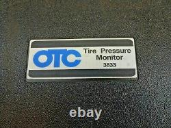 OTC Tire Pressure Monitor 3833 System Tester + Software + Instructions