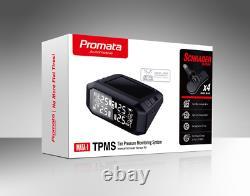 PROMATA 4x4 TPMS Internal Solar Tyre Pressure Monitoring System Wireless Mata1