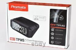 Promata MATA1E 4x4 External TPMS Solar Tyre Pressure Monitoring