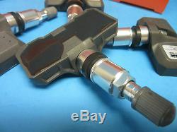 Set of 4 DirectFit TPMS Sensor Kits Replace GMC OEM# 10394110 315 Mhz